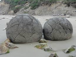 Moeraki gömbsziklák