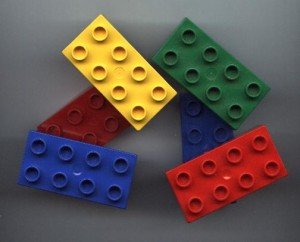 LEGO kocka