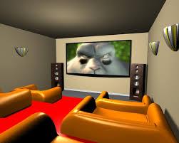 Kényelmes házimozi szoba építés