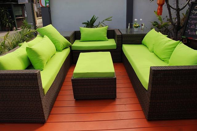 luxus kerti bútorok